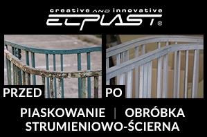 lakierowanie proszkowe - firma Elplast